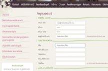 Regisztrációs és ügyfélszolgálati segítség