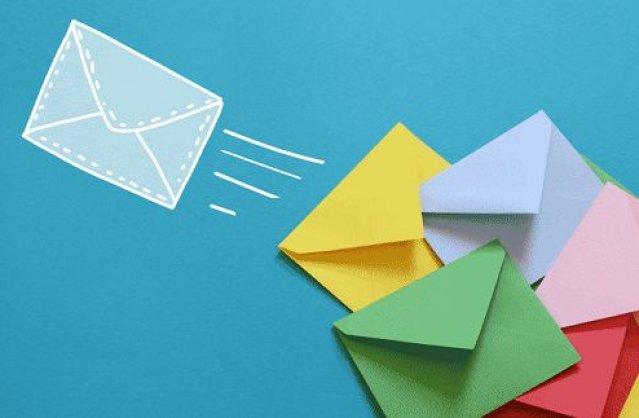 Értesítő a csomagokról emailen