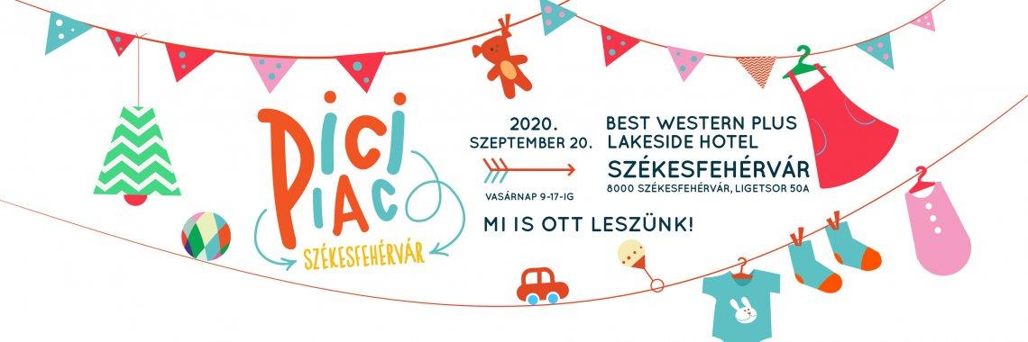 PiciPiac szeptember 20-án ismét Fehérváron!