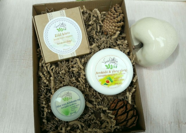 VeraNatura avokádós bőrtápláló csomag száraz, ekcémás bőrre