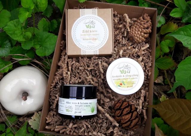 VeraNatura avokádós bőrtápláló öko csomag száraz bőrre