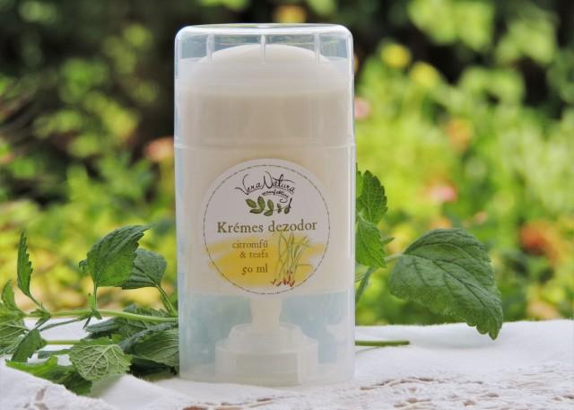 Krémes dezodor citromfű & teafa